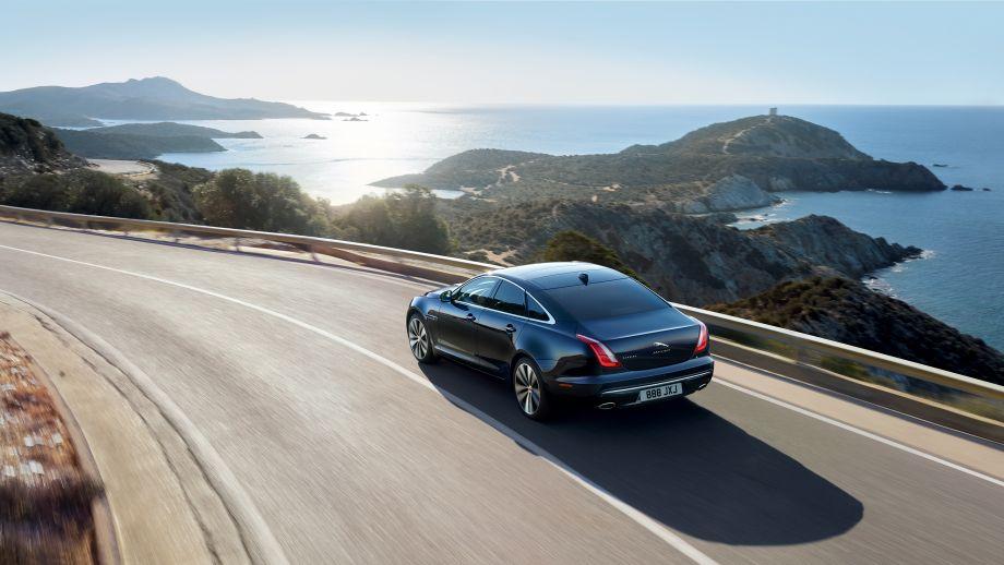 Jaguar XJ Facelift Heck