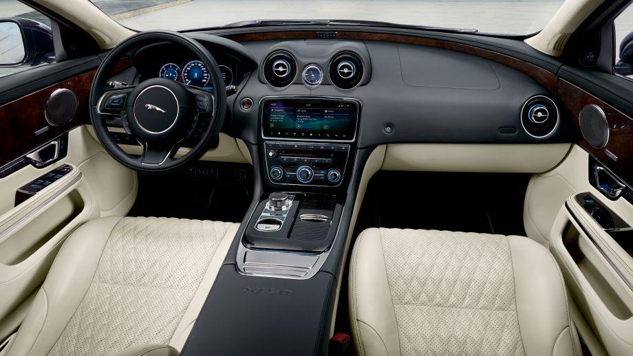 Jaguar XJ Facelift Interieur