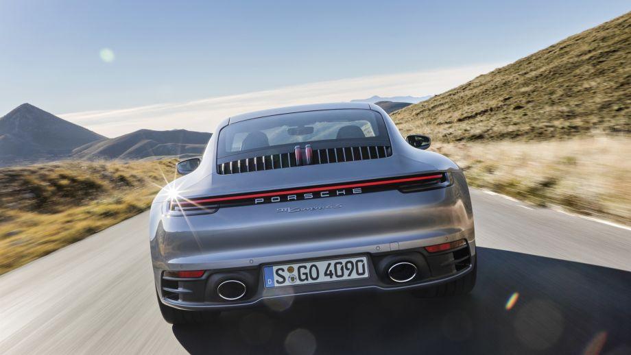 Porsche 911 Carrera 4S Coupé Heck