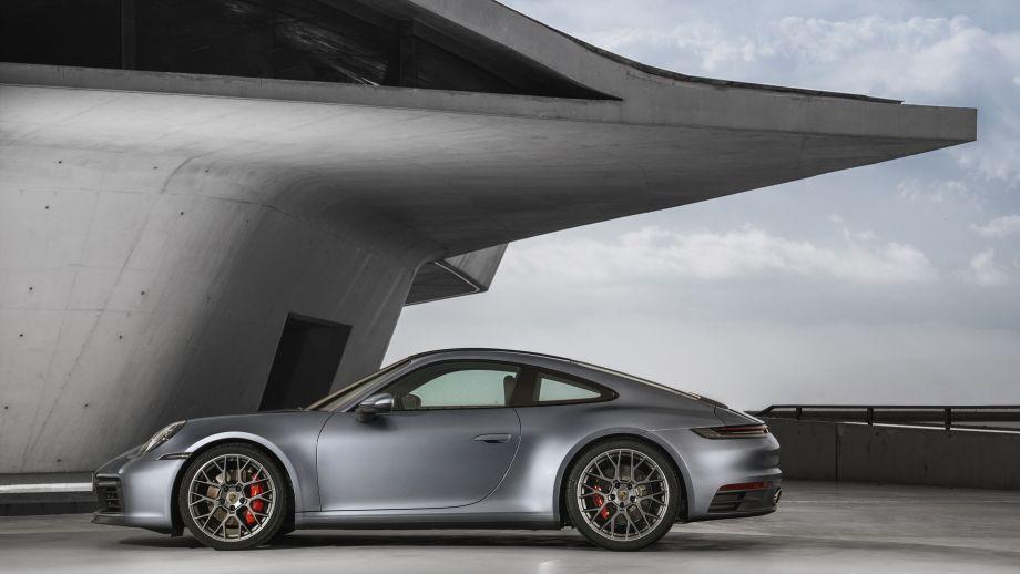 Porsche 911 Carrera 4S Coupé Seite Rabatt