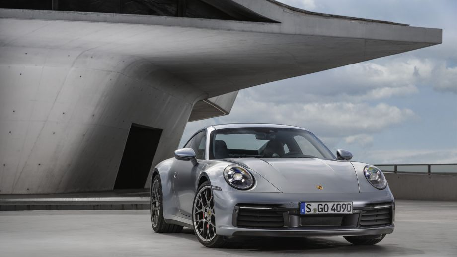 Porsche 911 Carrera 4S Coupé Front