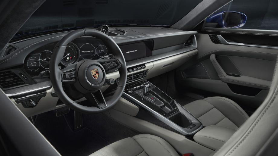 Porsche 911 Carrera 4S Coupé Interieur