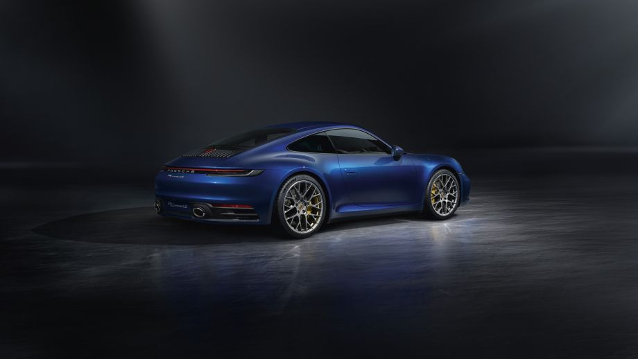 Porsche 911 Carrera 4S Coupé blau