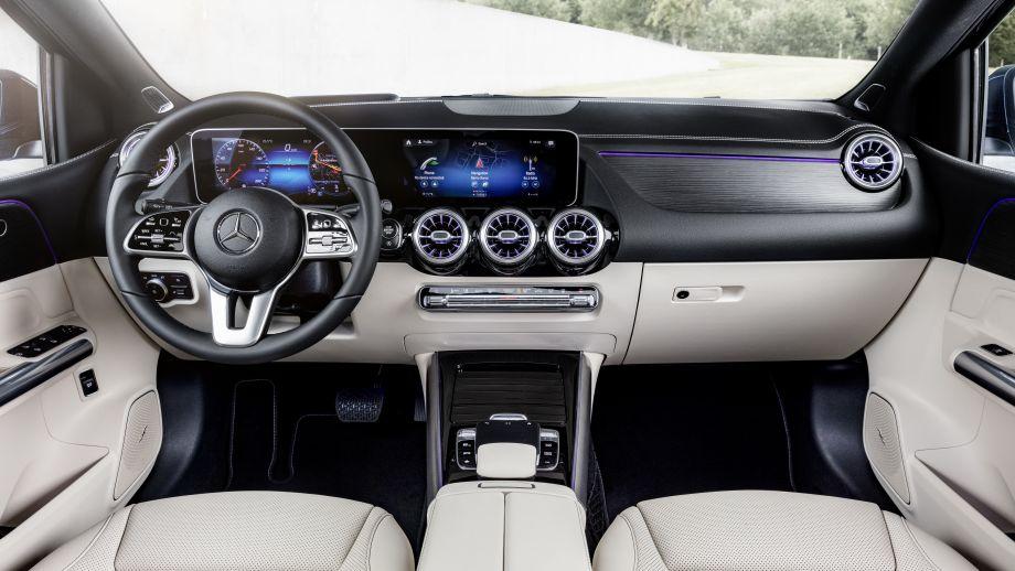 Mercedes-Benz B-Klasse Interieur MBUX