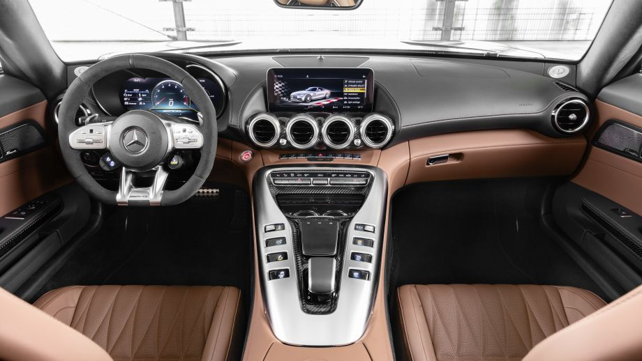 Mercedes-AMG GT Coupé Facelift Interieur