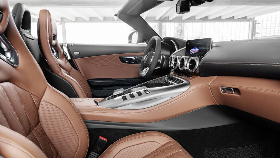 Mercedes-AMG GT Roadster Facelift Interieur