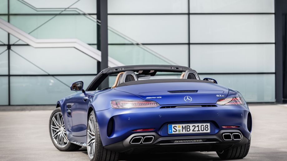 Mercedes-AMG GT S Roadster Facelift
