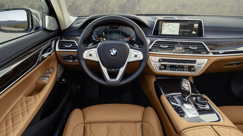 BMW 7er Facelift 740 Interieur
