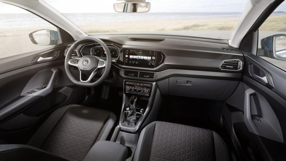 VW T-Cross  kleiner SUV Innenraum