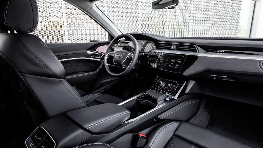 Audi e-tron Interieur Cockpit