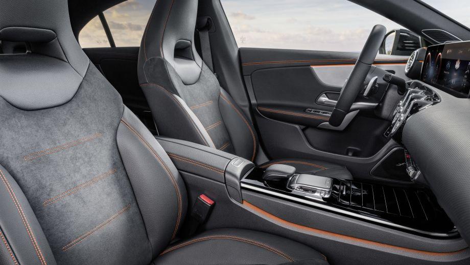 Mercedes Benz CLA AMG-Line Sitze