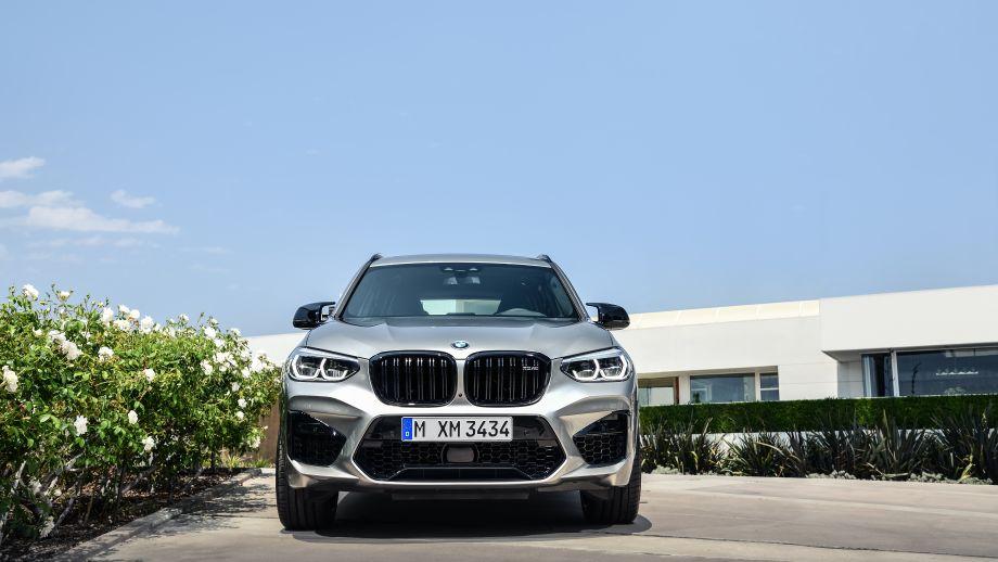 BMW X3 M SUV Lufteinlass