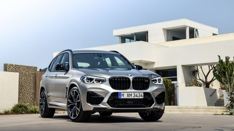 BMW X3 M SUV Front