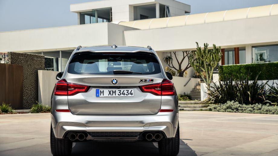 BMW X3 M SUV Heck