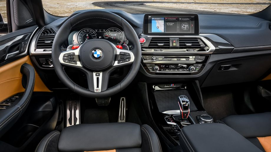 BMW X3 M SUV Lenkrad Interieur