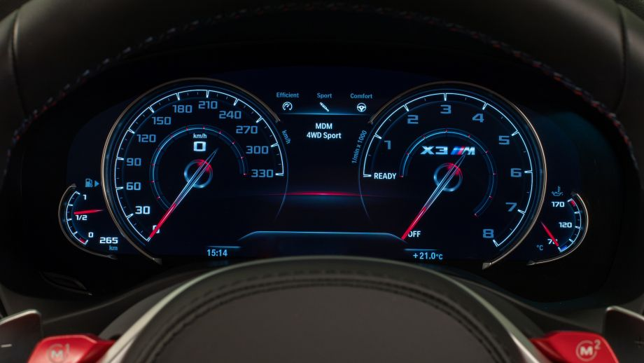 BMW X3 M SUV Tacho