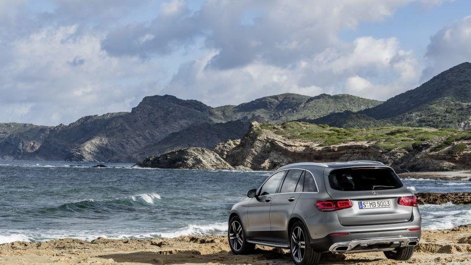 Mercedes-Benz GLC SUV AMG Line Heck