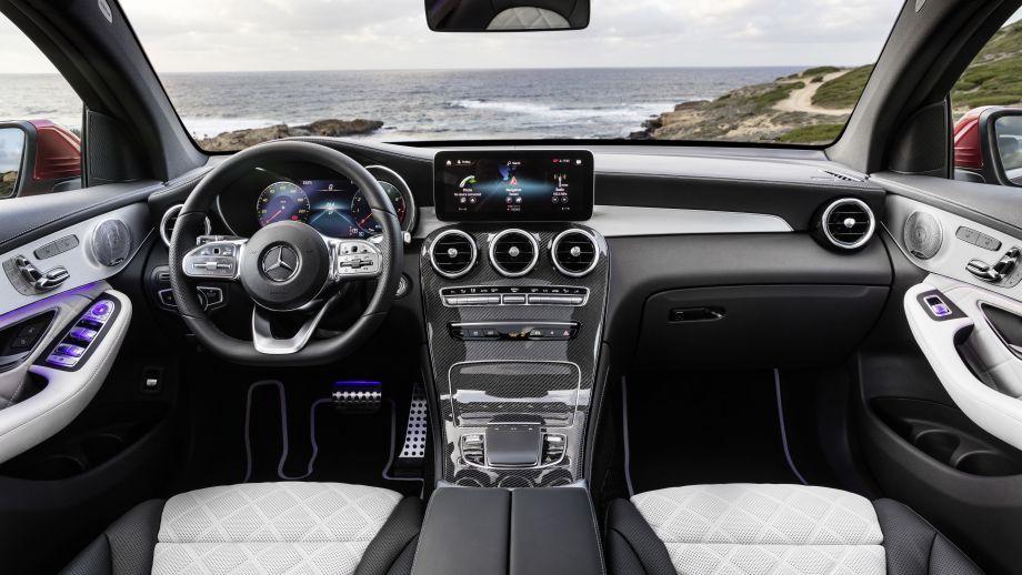 Mercedes-Benz GLC Coupé Facelift 2019 MBUX