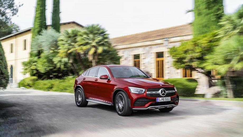Mercedes-Benz GLC Coupé Facelift 2019 AMG line