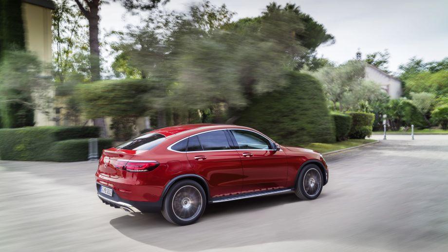 Mercedes-Benz GLC Coupé Facelift 2019