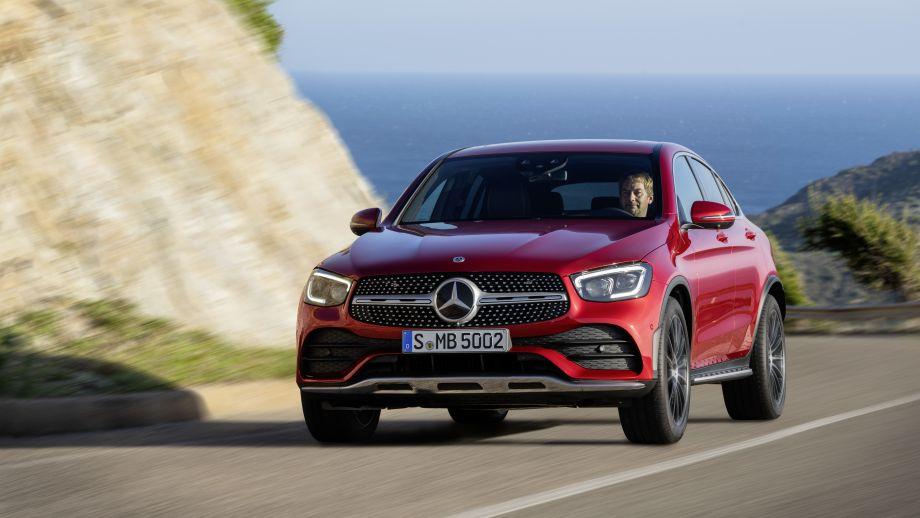 Mercedes-Benz GLC Coupé Facelift 2019 Grill