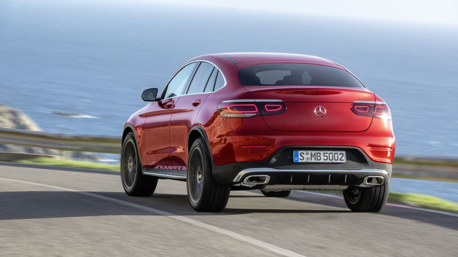 Mercedes-Benz GLC Coupé Facelift 2019 Heck