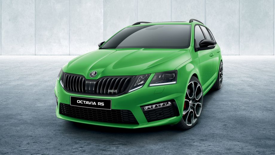 Skoda Octavia RS Combi Front