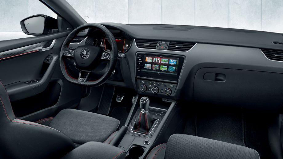 Skoda Octavia RS Combi Interieur