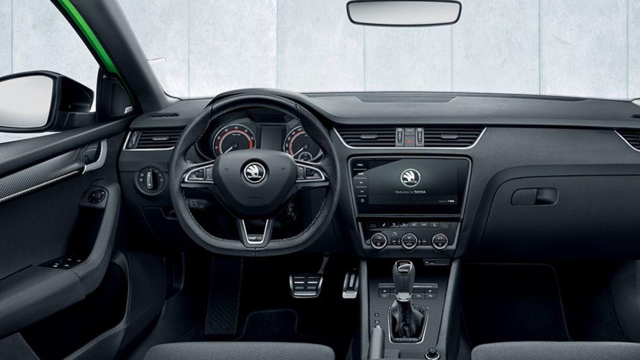 Skoda Octavia RS Combi Lenkrad