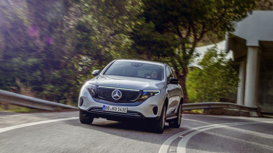 Mercedes-Benz EQC 400 Front Elektro