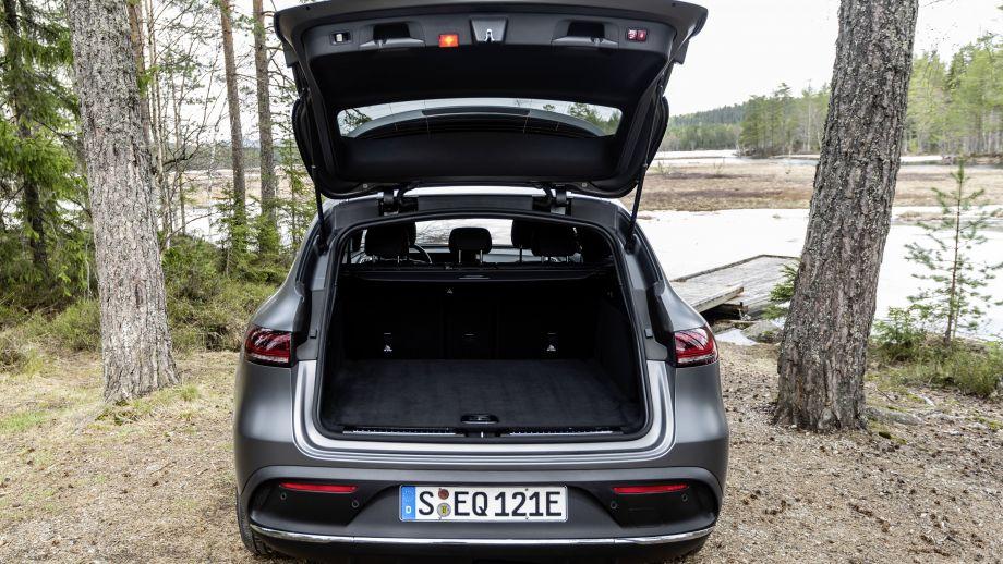 Mercedes-Benz EQC 400 Kofferraum