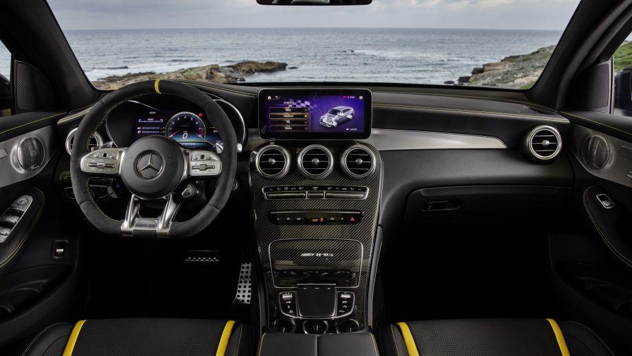 Mercedes-AMG GLC 63 Coupé MBUX Interieur