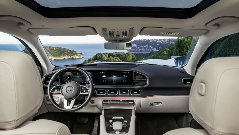 Mercedes-Benz GLS 2019 Interieur