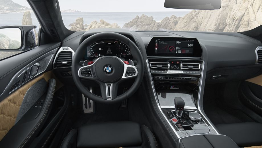 BMW M8 Coupe Competition Interieur