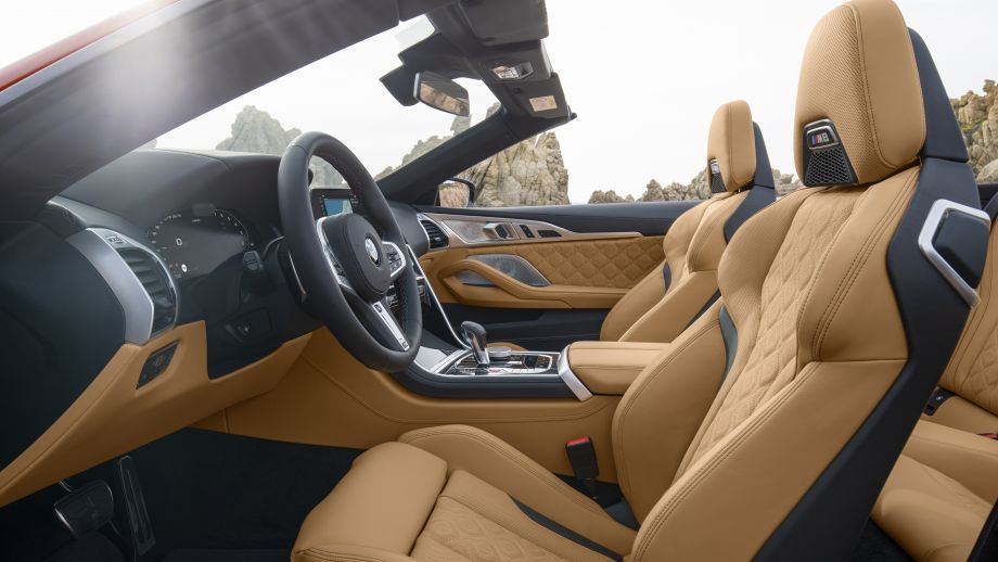 BMW M8 Cabriolet Sitze