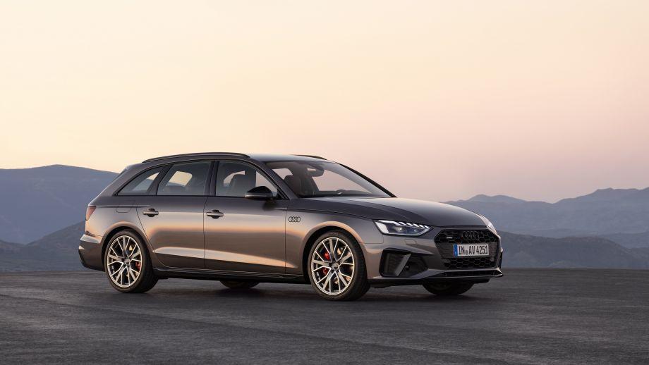 Audi A4 Avant Grill Scheinwerfer Felgen