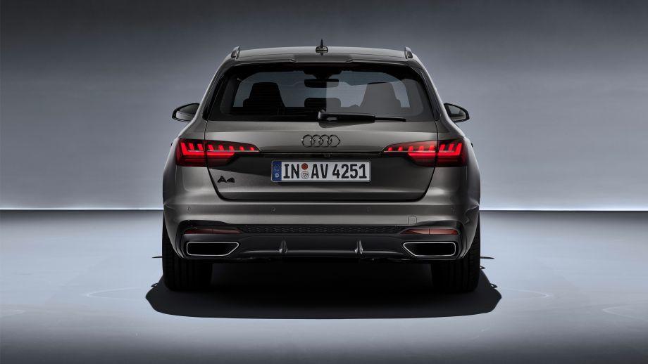 Audi A4 Avant Auspuff Heck