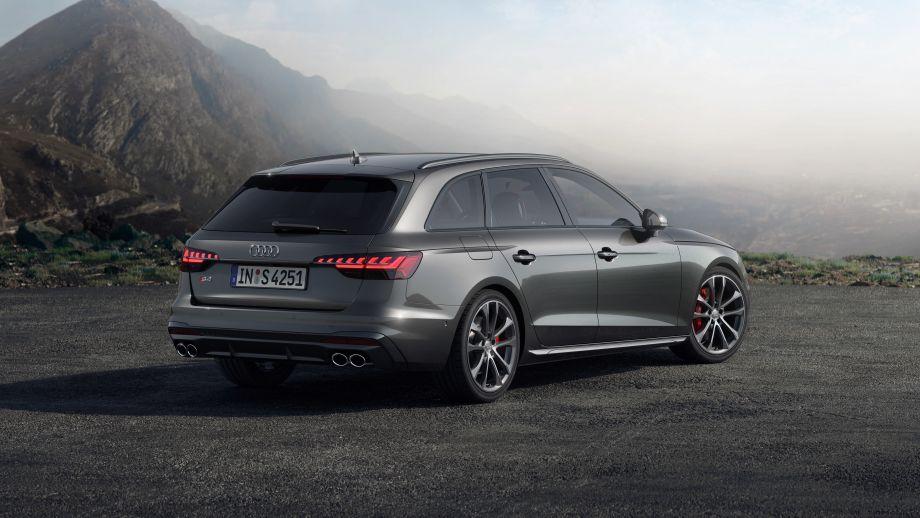 Audi S4 Avant TDI Heckleuchten Auspuff Diffusor 19 Zoll Felgen