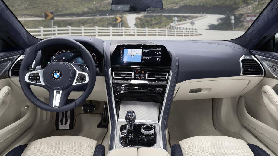 BMW 8er Gran Coupé Interieur