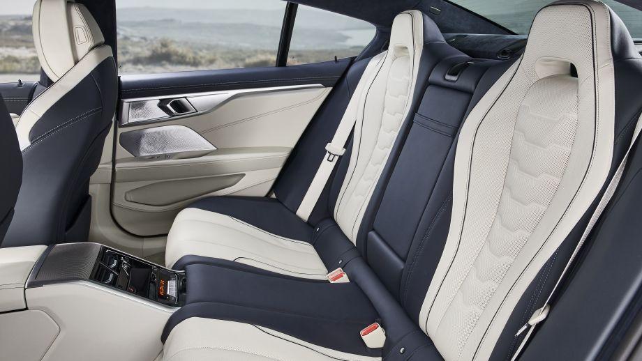 BMW 8er Gran Coupé Rücksitze