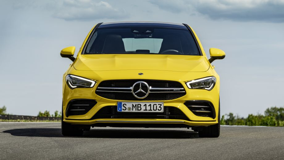Mercedes-AMG CLA 35 4MATIC Shooting Brake Grill
