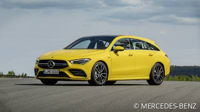 MERCEDES-BENZ CLA-Klasse<br/>CLA 35 AMG Shooting Brake