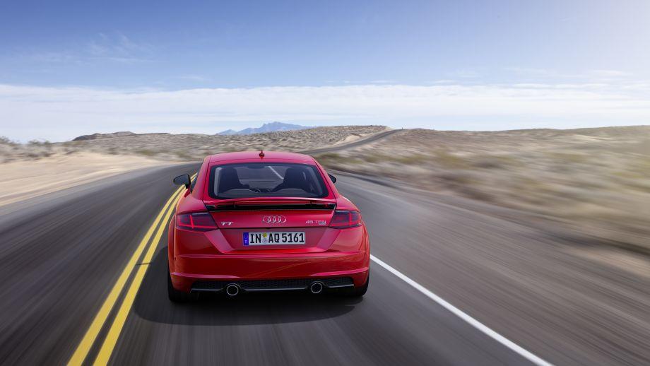 Audi TT Coupé Auspuff