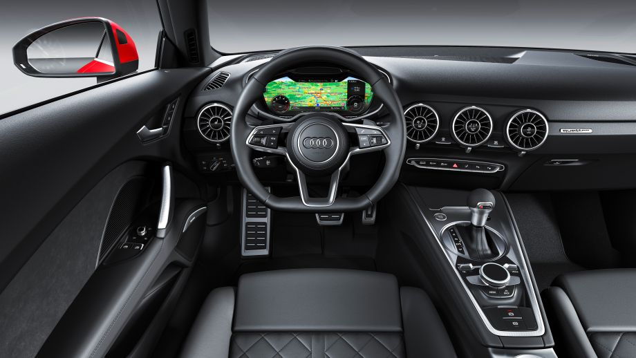 Audi TT Coupé Cockpit