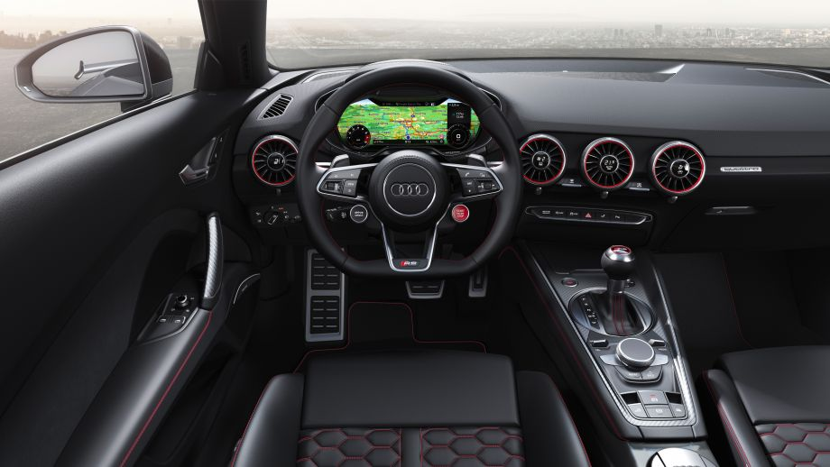 Audi TT RS Roadster Virtual Cockpit