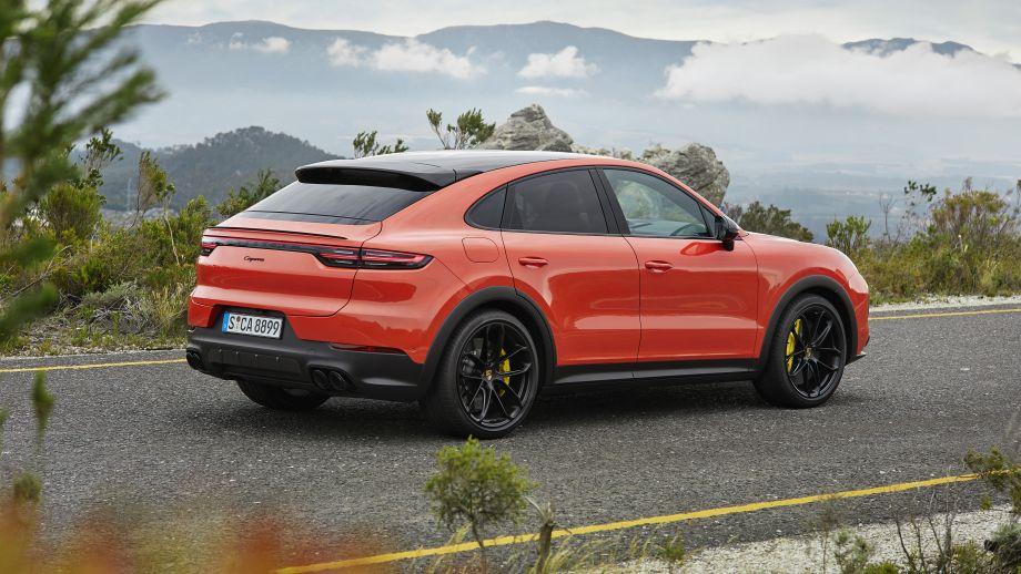Porsche Cayenne Coupé Heck