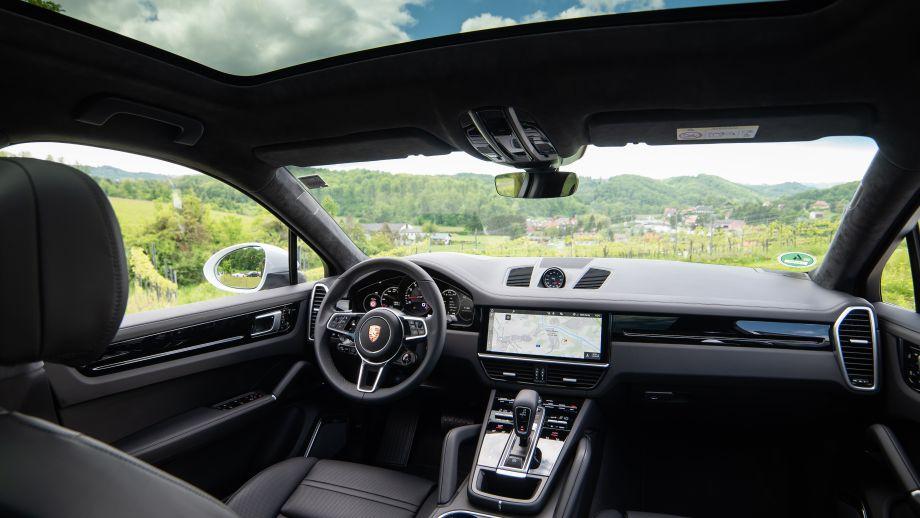 Porsche Cayenne Coupé Interieur