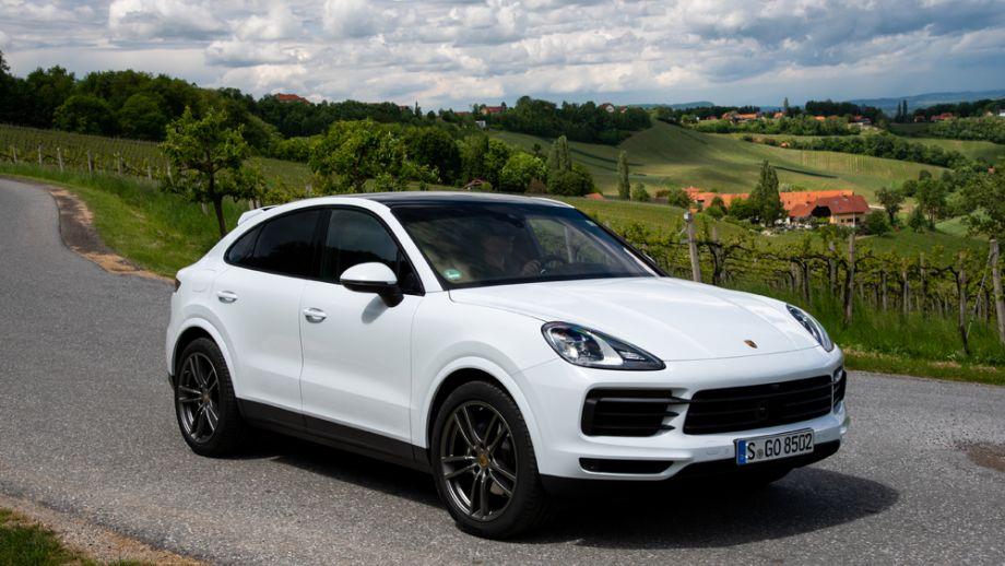 Porsche Cayenne Coupé weiss