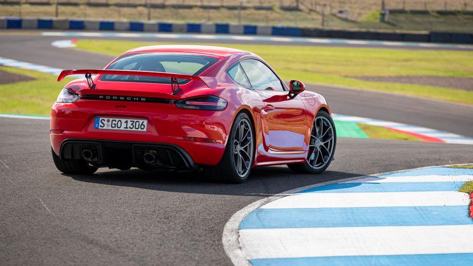 Porsche 718 Cayman GT4 Spoiler