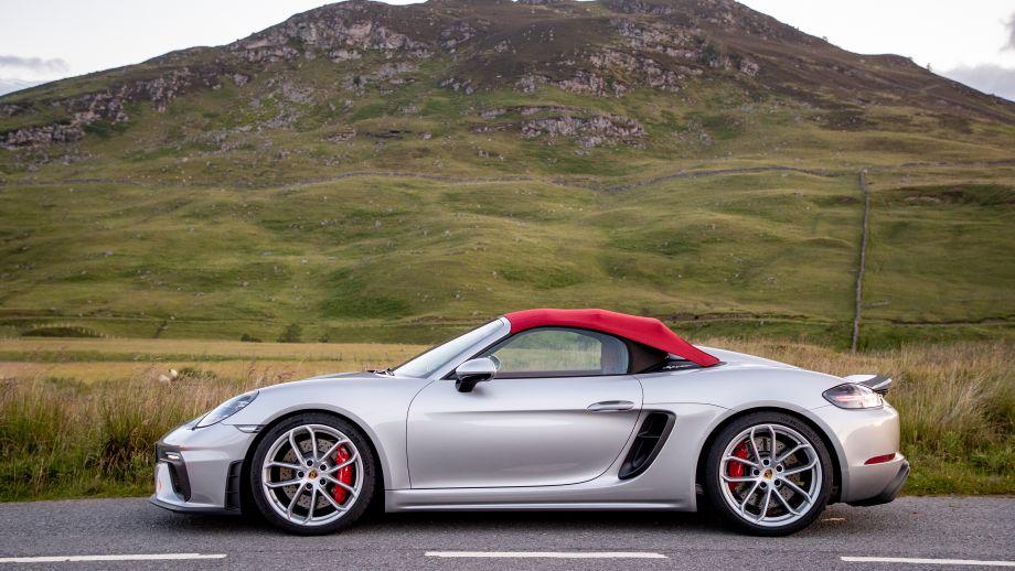 Porsche 718 Spyder Dach